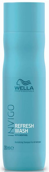 Wella Invigo Balance Refresh Wash Revitalising Shampoo - šampon pro osvěžení vlasů a pokožky 250 ml