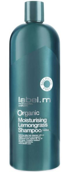 Label.m Organic Lemongrass Shampoo MAXI - organický zkliňující šampon 1000 ml