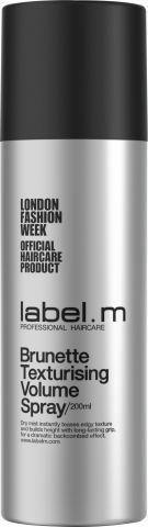 Label.m Brunette Texturising Volume Spray - objemový sprej pro brunetky 200 ml