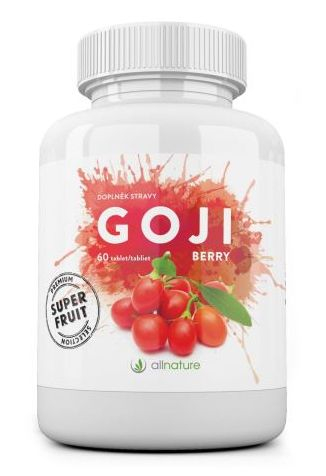 Allnature Goji Berry 60 tbl. - tablety Goji Berry