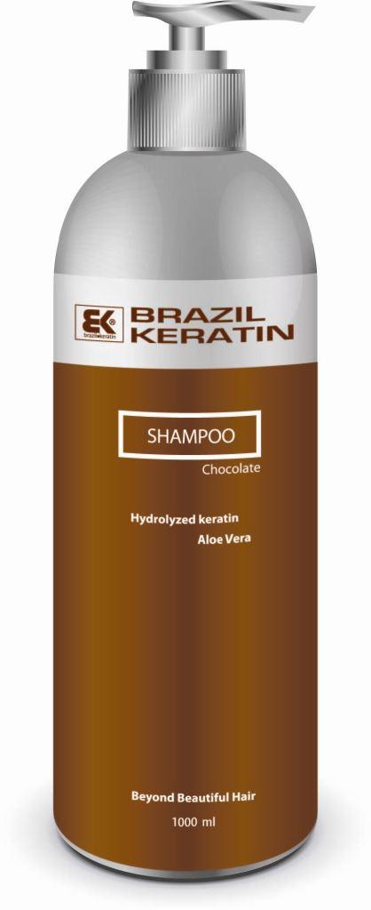 BK Brazil Keratin Intensive Repair Shampoo Chocolate MAXI - keratinový regenerační šampon 1000 ml