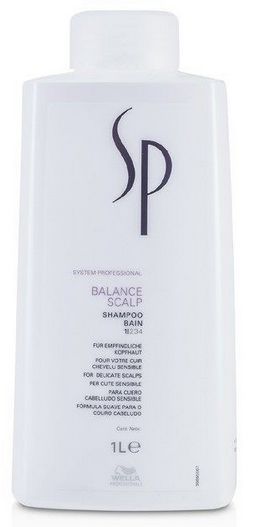 Wella System Professional Balance Scalp Shampoo MAXI - šampon na citlivou pokožku a proti vypadávání vlasů 1000 ml