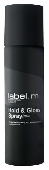 Label.m Hold And Gloss Hairspray - lak na vlasy s leskem 200 ml