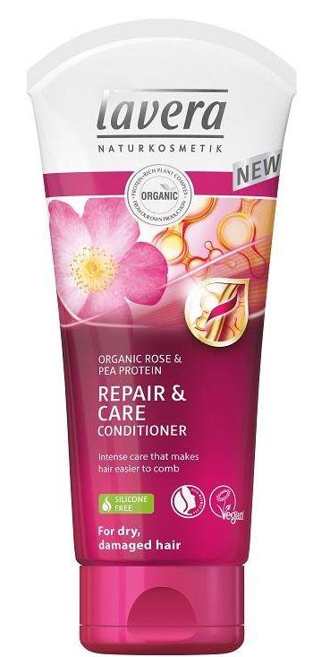 Lavera Hair PRO Bio-Rose Repair & Care Conditioner - kondicionér pro suché a poškozené vlasy 200 ml