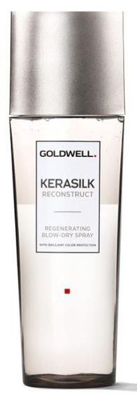 Goldwell Kerasilk Reconstruct Regeneration Blow-Dry Spray - regenerační sprej pro fénování poškozených vlasů 125 ml