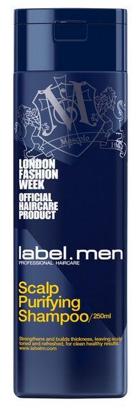 Label.m Men Scalp Purifying Shampoo - šampon pro osvěžení a posílení vlasů i pokožky 250 ml