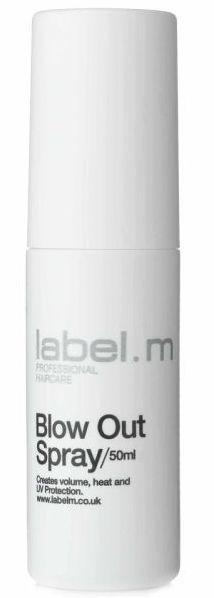 Label.m Blow Out Spray MINI - sprej pro objem a ochranu před teplem a UV zářením 50 ml