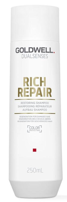 Goldwell Dualsenses Rich Repair Restoring Shampoo - šampon pro suché a lámavé vlasy 250 ml