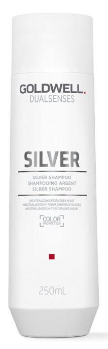 Goldwell Dualsenses Silver Shampoo - šampon pro šedé a blond odstíny 250 ml