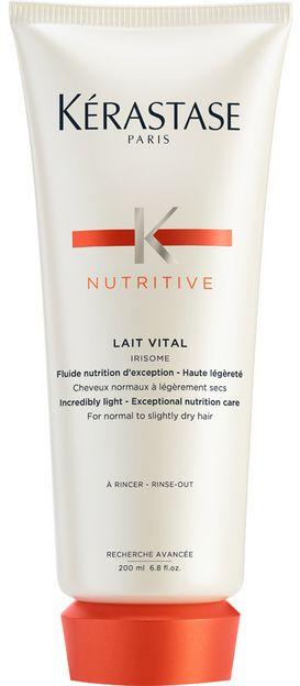 Kérastase Nutritive Lait Vital Irisome - lehká výživná péče pro normální až lehce suché vlasy 200 ml