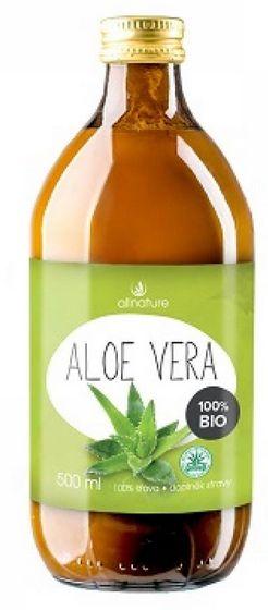 Allnature Aloe Vera BIO 500 ml - BIO přírodní šťáva z Aloe Vera 500 ml
