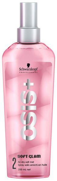 Schwarzkopf Osis+ Soft Glam Air-Dry Salt Mist - slaný sprej pro lesk a texturu 200 ml