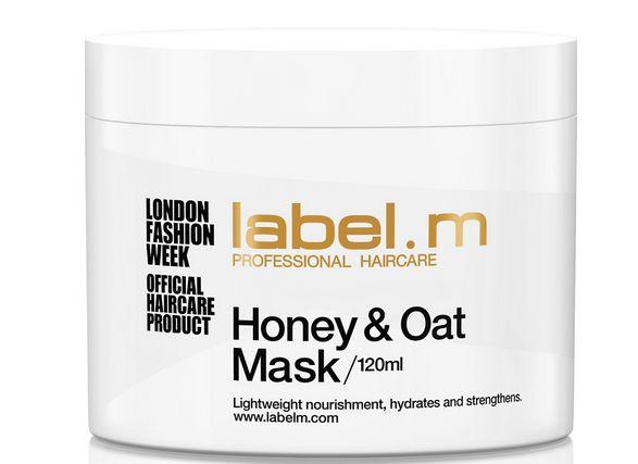 Label.m Honey & Oat Mask MAXI - hydratační a posilující medovo-ovesná maska 750 ml