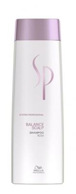 Wella System Professional Balance Scalp Shampoo - šampon na citlivou pokožku a proti vypadávání vlasů 250 ml
