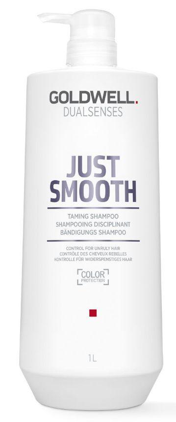 Goldwell Dualsenses Just Smooth Taming Shampoo MAXI - uhlazující šampon pro nepoddajné vlasy 1000 ml