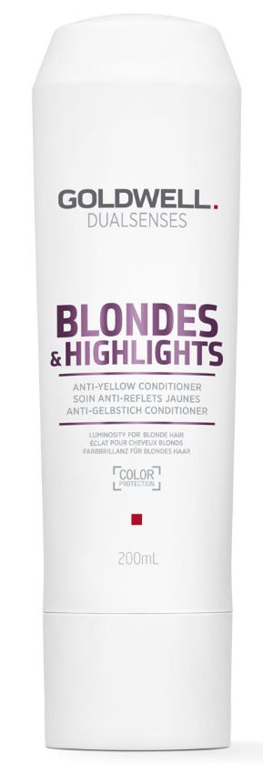 Goldwell Dualsenses Blondes&Highlights Anti-Yellow Conditioner - kondicionér pro blond a melírované vlasy 200 ml