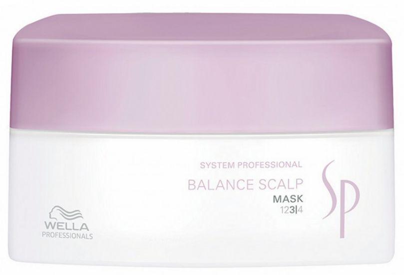 Wella System Professional Balance Scalp Mask - intenzivní maska pro citlivou pokožku 200 ml