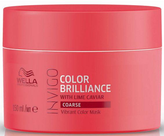 Wella Invigo Color Brilliance Vibrant Color Mask Coarse - maska pro silné barvené vlasy 150 ml