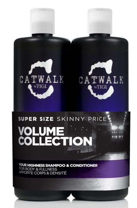 TIGI Catwalk Your Highness Volume Tweens - šampon a kondicionér pro objem 1500 ml