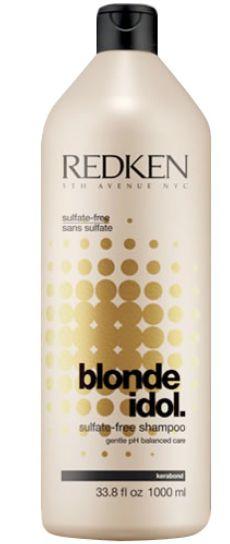 Redken Blonde Idol Shampoo MAXI - bezsulfátový šampon pro blond vlasy 1000 ml