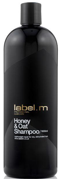 Label.m Honey & Oat Shampoo MAXI - medovo-ovesný šampon 1000 ml