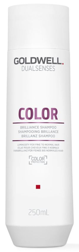 Goldwell Dualsenses Color Brilliance Shampoo - šampon pro normální až jemné barvené vlasy 250 ml