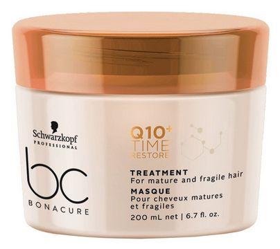 Schwarzkopf BC Bonacure Q10+ Time Restore Treatment - obnovující kúra pro zralé vlasy 200 ml