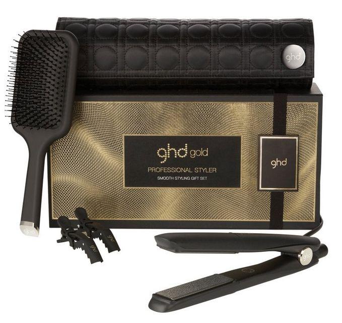 GHD Gold Classic Smooth Styling Gift Set - zvýhodněný set žehličky na vlasy