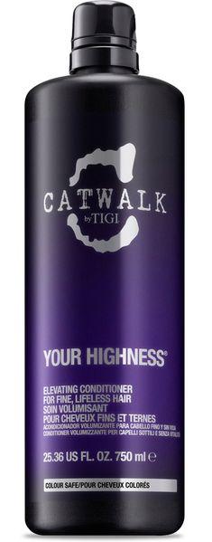 TIGI Catwalk Your Highness Elevating Conditioner MAXI - výživný kondicionér pro objem 750 ml