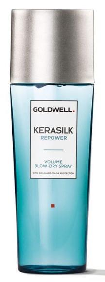 Goldwell Kerasilk Repower Volume Blow-Dry Spray - objemový sprej pro fénování 125 ml