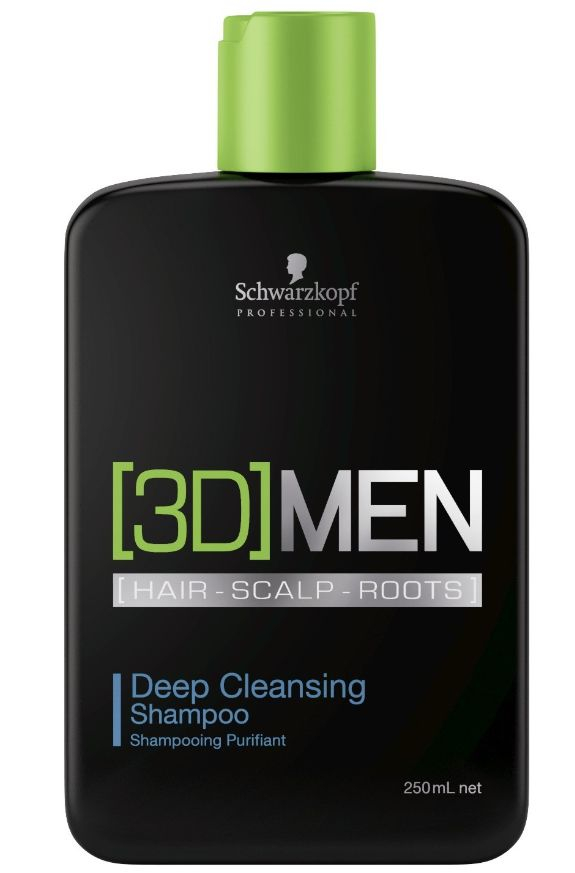 Schwarzkopf [3D]Mension Deep Cleansing Shampoo - hloubkově čisticí šampon 250 ml