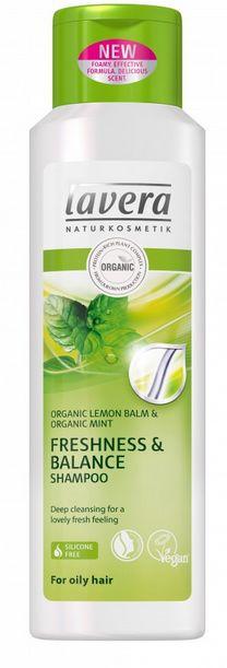 Lavera Hair PRO Freshness & Balance Shampoo - šampon pro normální a mastné vlasy 250 ml