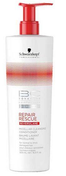 Schwarzkopf BC Bonacure Repair Rescue Micellar Cleansing Conditioner - čisticí kondicionér pro poškozené vlasy 500 ml