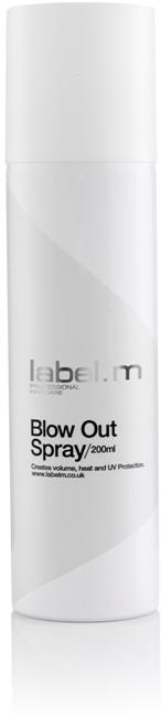 Label.m Blow Out Spray - sprej pro objem a ochranu před teplem a UV zářením 200 ml