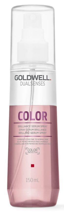 Goldwell Dualsenses Color Brilliance Serum Spray - sérum pro lesk normálních a jemných barvených vlasů 150 ml