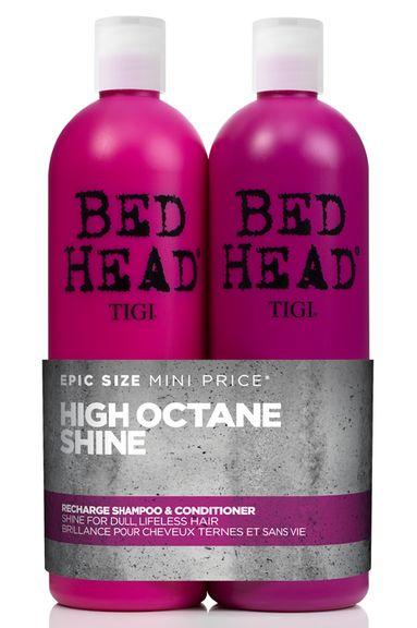 TIGI Bed Head Recharge High-Octane Shine Tweens - šampon a kondicionér pro vysoký lesk 1500 ml