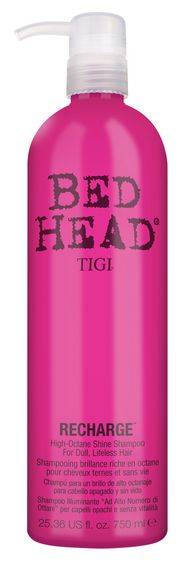 TIGI Bed Head Recharge High-Octane Shine Shampoo MAXI - šampon pro vysoký lesk 750 ml