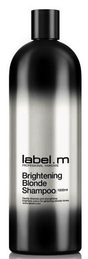 Label.m Brightening Blonde Shampoo MAXI - šampon pro zářivou blond barvu 1000 ml