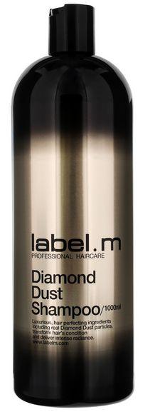 Label.m Diamond Dust Shampoo MAXI - šampon pro diamantový lesk vlasů 1000 ml