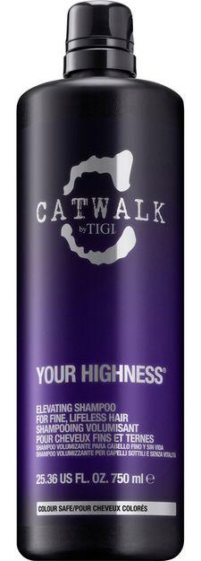 TIGI Catwalk Your Highness Elevating Shampoo MAXI - šampon pro objem 750 ml