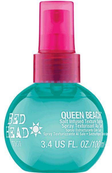 TIGI Bed Head Queen Beach Salt Infused Texture Spray - slaný sprej pro plážový vzhled 100 ml