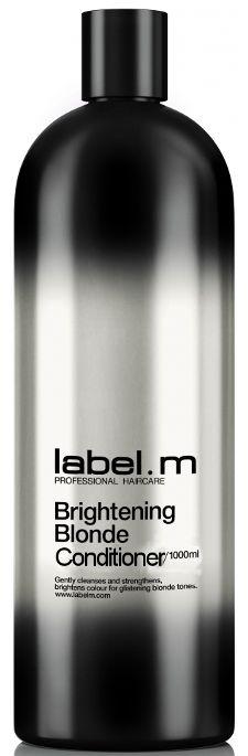 Label.m Brightening Blonde Conditioner MAXI - kondicionér pro zářivou blond barvu 1000 ml