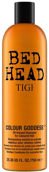 TIGI Bed Head Colour Goddess Oil Infused Shampoo MAXI - šampon pro barvené poškozené vlasy 750 ml