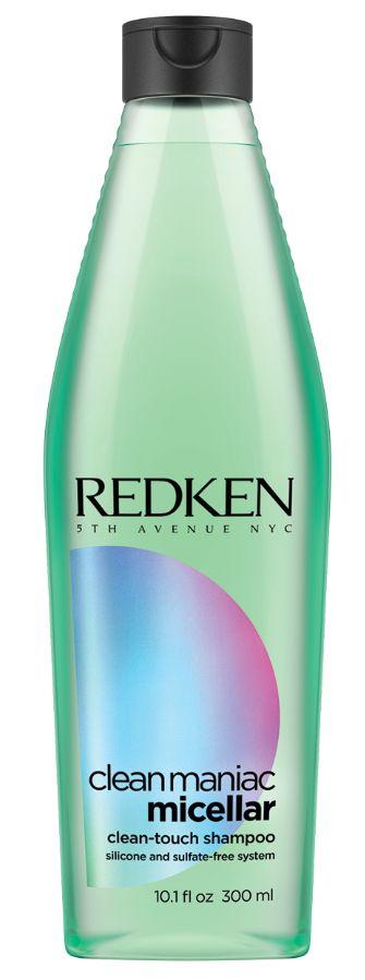 Redken Clean Maniac Micellar Purifying Shampoo - bezsulfátový hloubkově čistící micelární šampon 300 ml