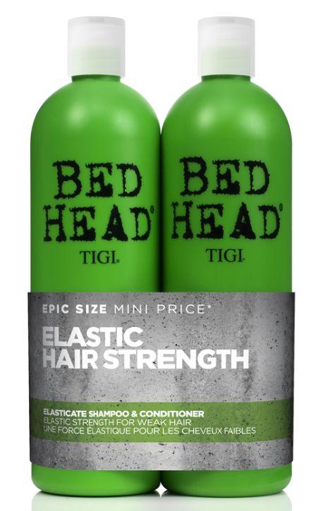 TIGI Bed Head Elasticate Strengthening Tweens - posilující proteinový šampon a kondicionér 1500 ml