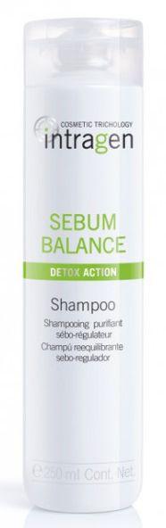 Revlon Intragen Sebum Balance Shampoo - vyrovnávací šampon pro mastné vlasy 250 ml