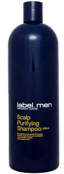 Label.m Men Scalp Purifying Shampoo MAXI - šampon pro osvěžení a posílení vlasů i pokožky 1000 ml