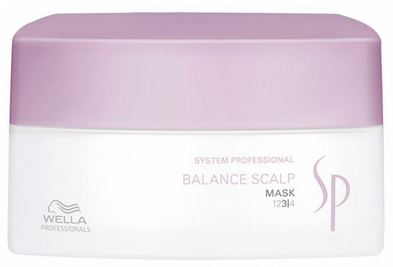 Wella System Professional Balance Scalp Mask MAXI - intenzivní maska pro citlivou pokožku 400 ml