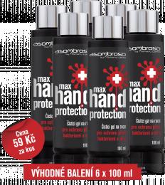 Max Hand Protection 100 ml, 6 kusů