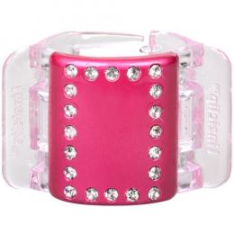 MIDI perleťově růžový s krystalky